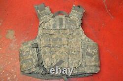 Army Acu Digital Body Armor Plaque Porte-avions Fabriqués Aveckevlar Inserts Grande
