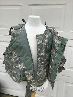 Army Acu Digital Body Armor Plate Transporter Avec Made Withkevlar Vest XL Pas D'inserts