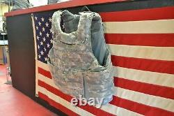 Army Acu Digital Body Armor Plate Transporteur Made Withkevlar Inserts Grand Lot 1