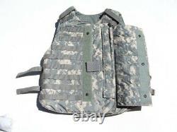 Army Acu Digital Body Armor Plate Transriger Avec Des Inserts De Kelevlar Large Vest