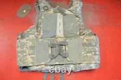 Army Acu Porte-plaques D'armure De Corps Numérique Fait Aveckevlar Inserts Medium