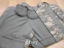Army Acu Porte-plaques D'armure Numérique Avec Made Withkevlar Inserts Grand Gilet
