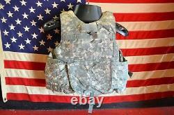 Army Acu Porte-plaques D'armure Numérique Fait Avec Des Inserts Kevlar X-small
