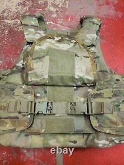 Army Multicam Corps Armor Plate Transporteur Avec Inserts De Kevlar Moyen