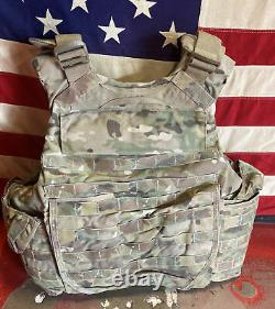 Army Multicam Correction Armor Plate Transporteur Made Withkevlar Inserts X Petite