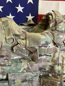 Army Multicam Organisme Armor Plate Transporteur Made Withkevlar Inserts Small
