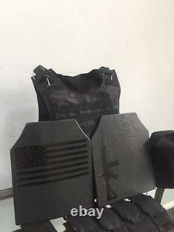Body Ar500 Plaques Tactique Porte-armure En Kevlar Gilet Pare-balles