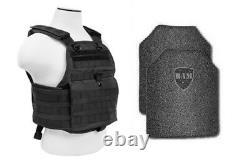 Body Armor Bullet Proof Vest Ar500 Plaques D'acier Revêtement De Base Porte-plaques
