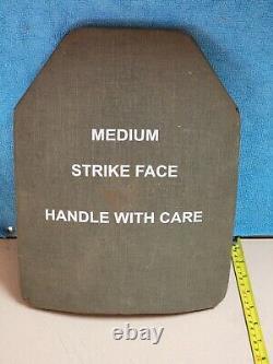 Body Armor Inserts Niveau 3 Plaques Céramiques De Face Strike Large 10x13 Front & Back