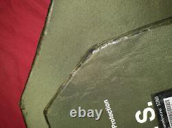Body Armor Inserts Niveau 3 Plaques De Face De Frappe En Céramique Grand Avant Et Arrière