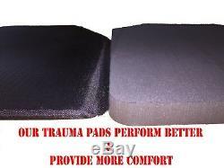 Body Armor L Revêtement De Base Frag-spall En Plaques D'acier Ar500 Niveau III -11x14