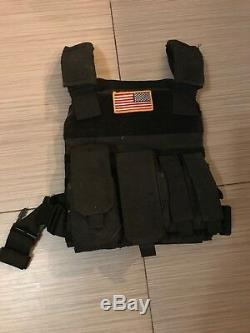 Body Armor, Noir, Plaques En Céramique, Plate Carrier