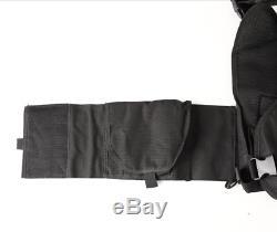 Body Armour Gilet Pare-balles Anti-balles Ar500 Manteau Base Frag 10x12 6x6 Tan