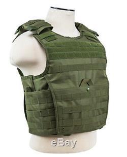 Body Armour Gilet Pare-balles Anti-balles Ar500 - Manteau Frag Coat Exp Od XXL