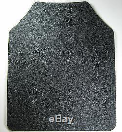 Body Armour Gilet Pare-balles Anti-balles Ar500 Revêtement De Base Des Plaques D'acier Exp Blk 11x14
