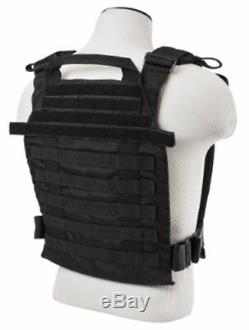 Body Armure Bullet Proof Vest Plaques D'acier Ar500 Fast Porte Plate Blk 11x14