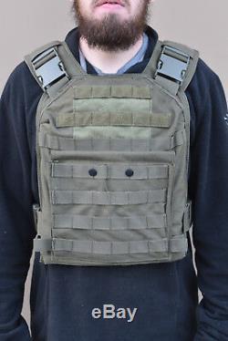 Bullet Proof Vest Nij Niveau III Plaques Ballistic Acier En Stock