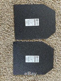 Bullet Proof Vest Niveau 3 Plaques. Tan-peine Utilisé