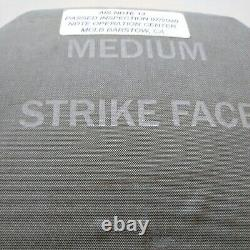 Bulletproof Inserts Niveau 3 Plates Céramiques De Face Strike Moyenne 10x13 Front & Back