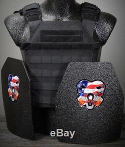 Cati Ar500 Plaques De Protection Corporelle De Niveau 3 Pour Tireur Actif Sentry Adv. Sc Black