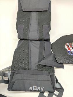 Cati Phalange Niveau III + / Ar500 Body Armor Ventilé Cummerbund Kit Nouvelle Offre