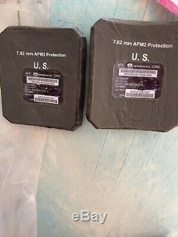 Céramique Face De Frappe Protections Plaques Latérales (1pr) Niveau III Ceramics 6x6