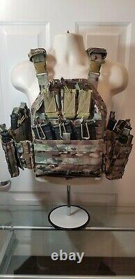 Commandant Quick Release Tactical Carrier Multicam /level 3 Ar500 Plaques