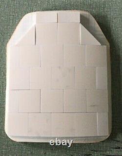 Couverture Élargie Armure De Corps En Forme De Plaque Balistique Niveau De Niveau III + 3+ 10x12 Céramique