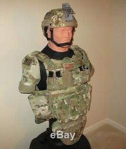 Eagle Industries Du Corps Armor Vest Paquet, Multicam Camo, Manifestes, Tres Rare