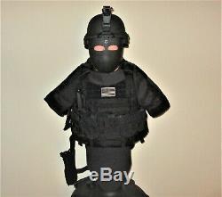Eagle Industries Paquet Tactique, Noir, Plaque Support Armure Du Corps, Rare