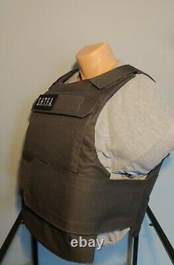 En Stock Niveau III 3xl 4xl Big Man Body Armor 11.5x14 & Carrier Uhmwpe Not Ar500