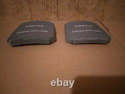 Face De Frappe 7.62mm Apm2 Plaques Balistiques De Protection 6x8 Gilet Pare-balles Latéral