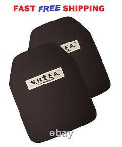 Forfait Niveau 3+ 10x12 Shtf Body Armor Sapi Ceramic Not Ar500 In Stock