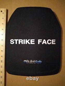 Frappe Face Plaque Balistique Bullet Safe 10x12 Gilet Pare-balles