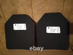 Frappe Face Plaques Balistiques Niveau 3 Icw Ltc 10x12 Gilet Pare-balles