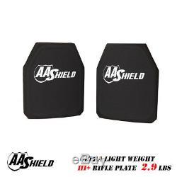Gilet Pare-balles Anti-balles Ultra-léger, Plaque De Protection Aa, 9.5x11.5 Paires