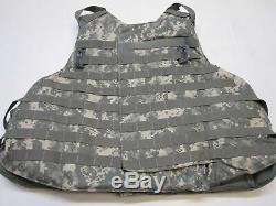 Gilet Pare-balles Body Armor Plaque Support X-large Niveau Vest Avec Iii-a Inserts