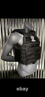 Gilet Pare-balles Gilet Body Armor Niveau 3 III Plaques Porte-plaques Ar500 Bullet Proof