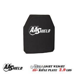 Gilet Pare-balles Ultra-léger Bulletproof Pour Plaque De Fusil Aa Shield III 9.5x11.5