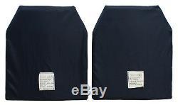 Gilet Porte-plaques D'armure Corporelle Niveau III Molle, Couleur Noir