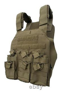 Gilet Tactique Avec Ultra-léger 3a Body Armor Bulletproof Plates