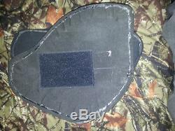 Gilets Pare-balles De Panneau De Protection Balistique Des Plaques De Blindage De Porte-plaque Sapi III +! Uk Style