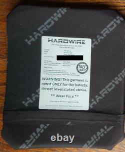 Hardwire 10x12 Niveau III Plaque Rectangle Multicurve 2.3lb Hesco Tencate Rma Lbt