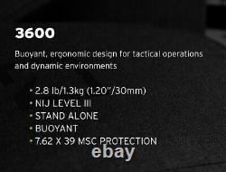 Hesco 3600 Niveau III Stand Plaques Seul