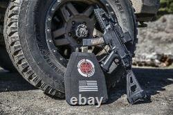 Hesco L210 10x12 Ensemble De Plaques De Menace Spéciale - Bulletproof It, Branded
