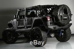 Jk-6139 Body Armor Gen III Trail Avant Tube Portes Set 2007-18 Jeep Wrangler Vente