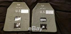 L'armure De Corps Moyen Niveau III + Plaques (paire)