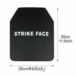 Les Plaques Professionnelles Uhmw-pe Hard Body Armor Épaissir Bulletproof Board III Stand