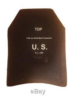 M-80 Plaques De Protection Balistique De Qualité Militaire XL
