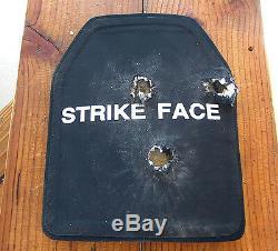 Marque Nij Niveau III Pe Plate Fusil Céramique Multi-hit Support 6x8 Seul